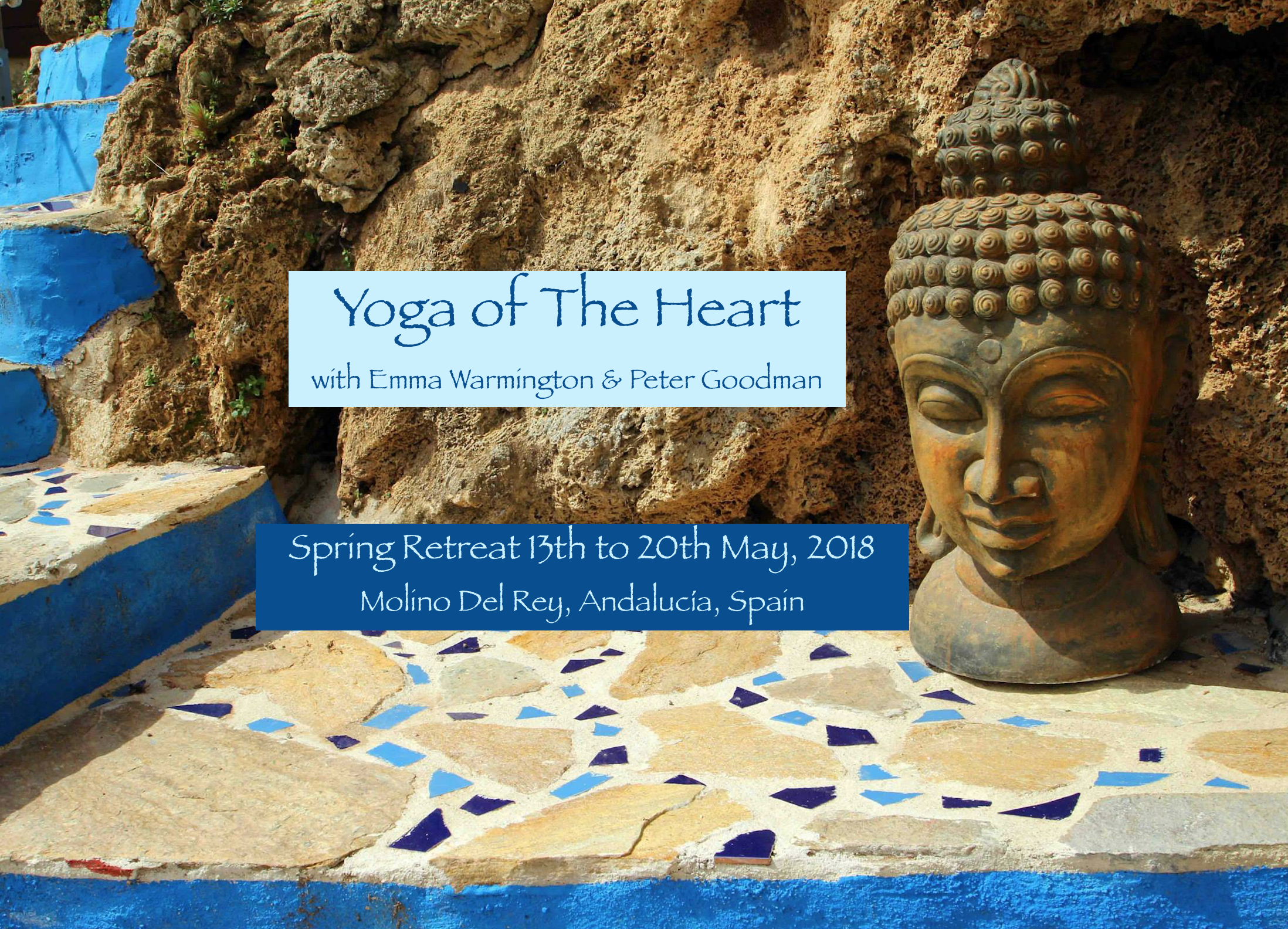 'Yoga of The Heart' Spring Retreat with Emma Warmington & Peter Goodman