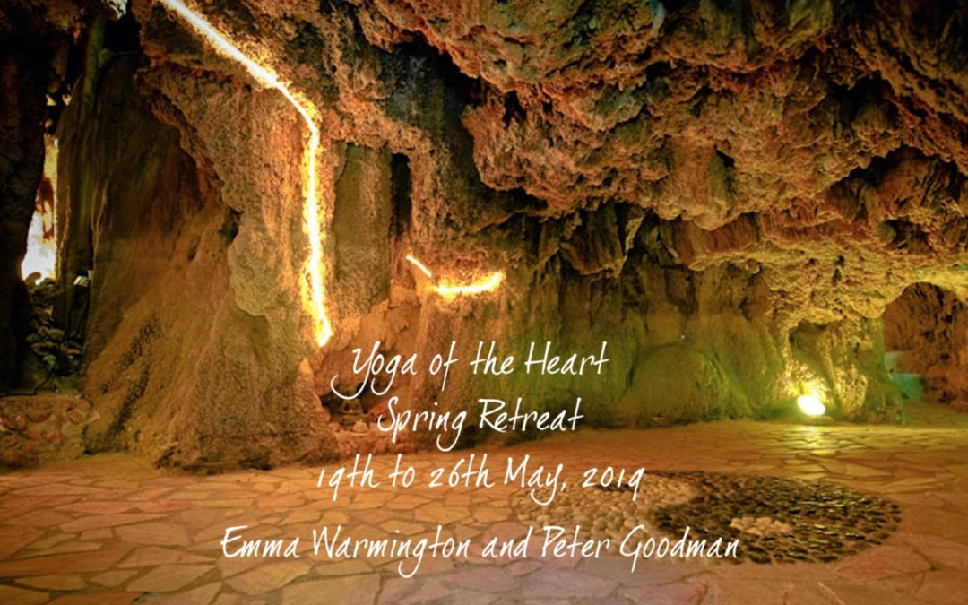 Spain Retreat May 19-26, 2019 'Yoga of The Heart' Emma & Peter